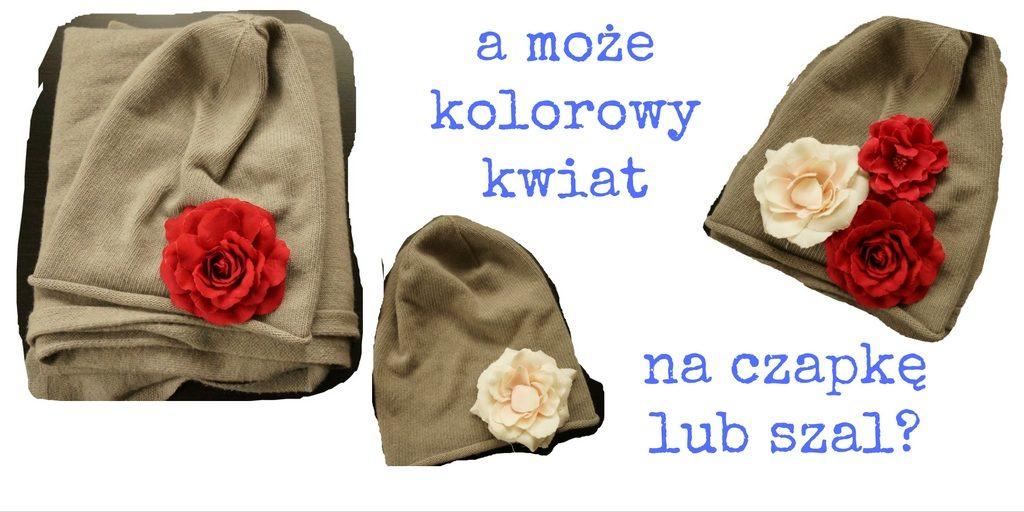 ozdoby na czapkę lub szalik