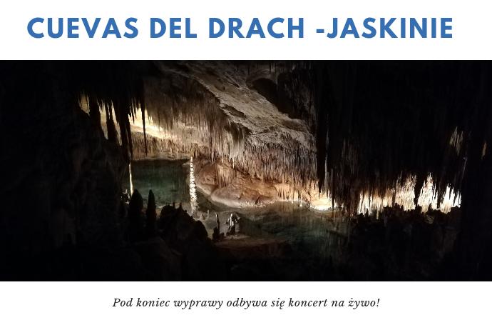 Cuevas del Drach majorka jaskinie