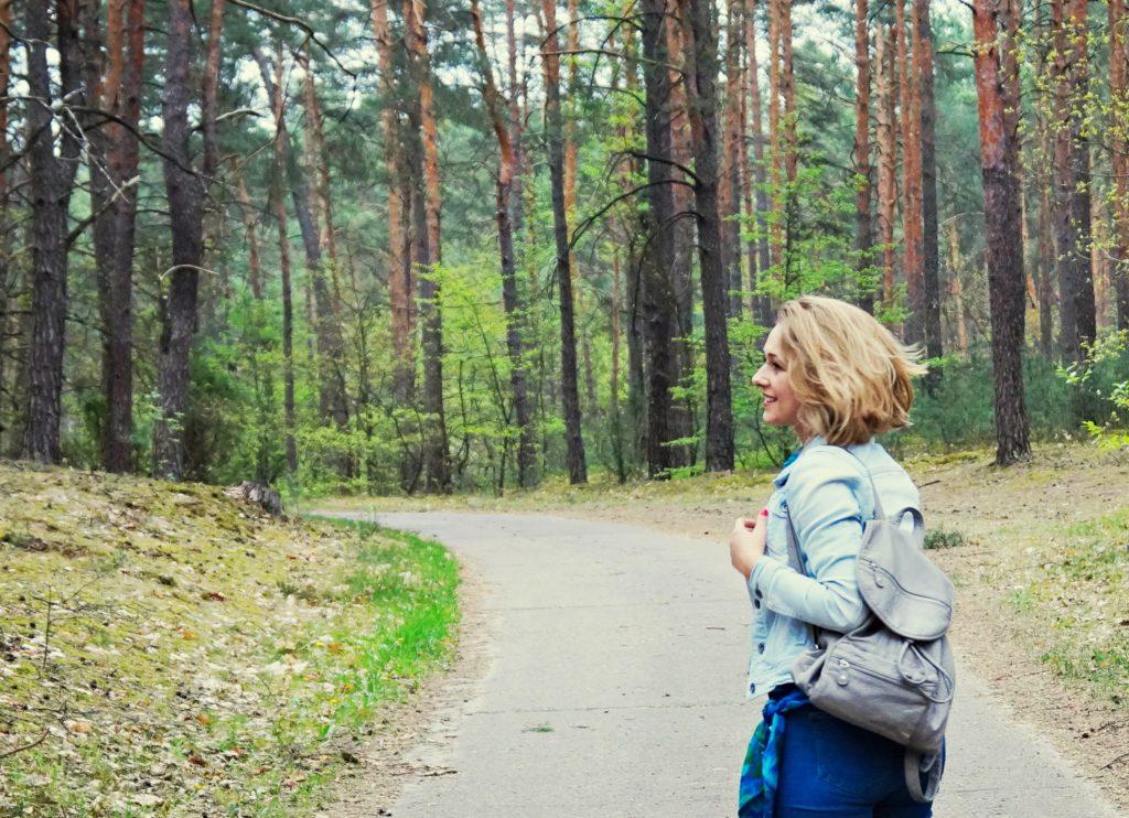 las, wycieczka, stylizacja piknikowa,