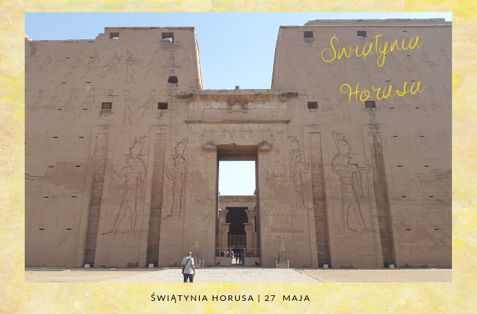 swiatynia horusa edfu egipt