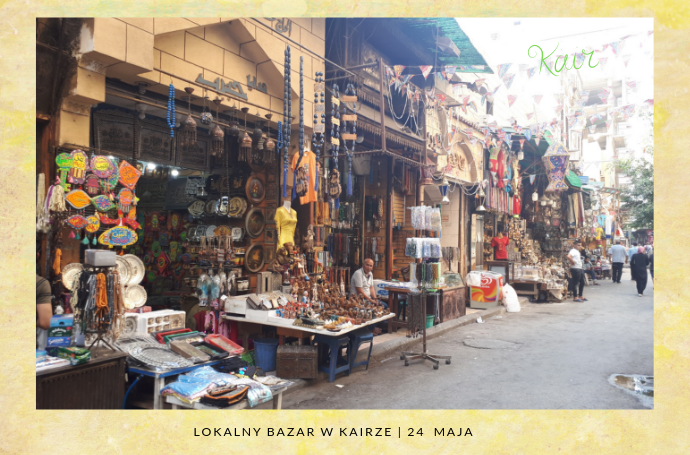 bazar w Kairze egipt