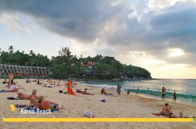 karon i kata beach phuket tajlandia