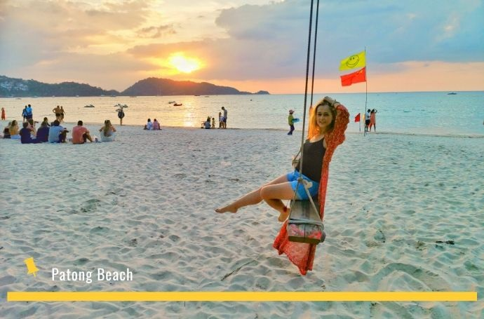 patong beach phuket tajlandia