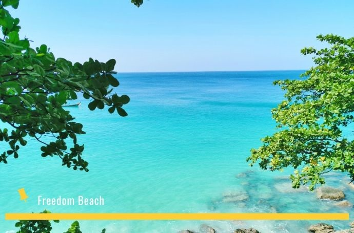 freedom beach phuket tajlandia
